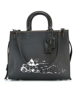 COACH | Multiple Straps Tote Leather