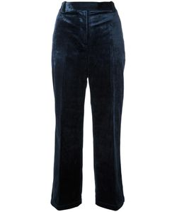 3.1 Phillip Lim | Cropped Velvet Trousers 2 Cupro/Viscose/Polyester
