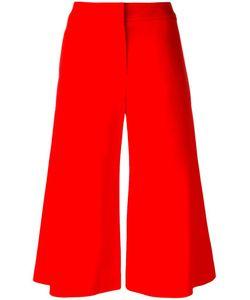 Jonathan Simkhai | Wide-Legged Cropped Trousers 6 Acetate/Viscose/Spandex/Elastane/Spandex/Elastane