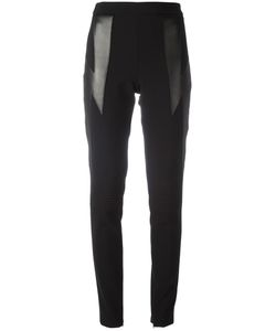 Neil Barrett | Lightning Bolt Leggings 42 Lamb Skin/Polyester/Viscose