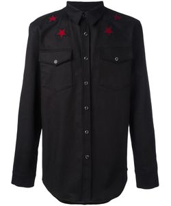 Givenchy | Star Embroidered Shirt Large Cotton/Spandex/Elastane