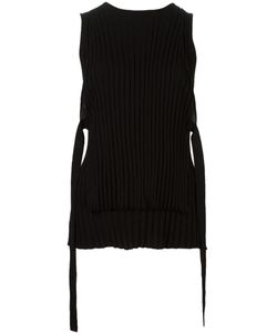 Helmut Lang | Straps Detail Knitted Tank Large Wool
