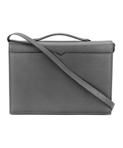 Valextra | Top Handle Messenger Bag Calf Leather