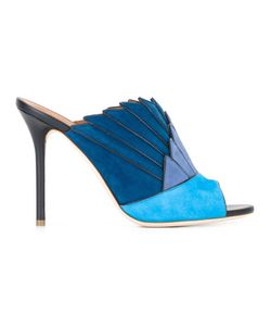 MALONE SOULIERS | Donnama Mules 39 Calf Suede/Leather
