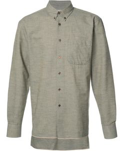 NAKED AND FAMOUS | Button Down Shirt Medium Cotton