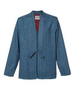 NAKED AND FAMOUS | Kimono Shirt Large Cotton
