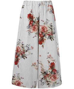 Antonio Marras | Print Cropped Trousers 0 Cotton