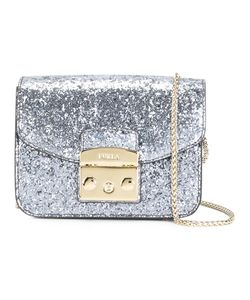 Furla | Glitter Crossbody Bag Polyamide/Polyester/Polyurethane/Leather