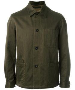Paul Smith | Shirt Jacket Medium Cotton/Linen/Flax