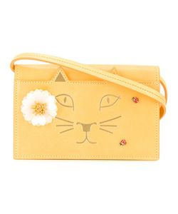 Charlotte Olympia | Feline Shoulder Bag Leather