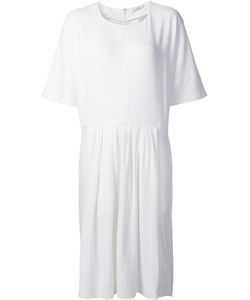 TOME | Pleated Waist Dress Large Silk