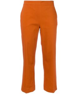 Odeeh | Cropped Trousers 42 Cotton/Spandex/Elastane/Lyocell