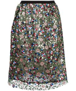 Odeeh | Sequined Skirt 38 Cotton/Polyester