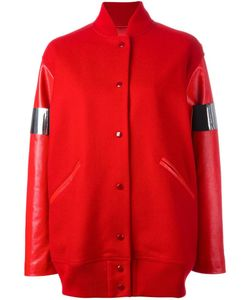 MM6 by Maison Margiela | Mm6 Maison Margiela Bomber Jacket 42 Virgin Wool/Polyamide/Polyester/Calf