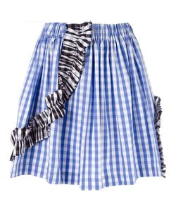 MSGM | Gingham Check Skirt 40 Cotton