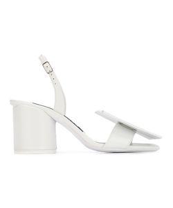 JACQUEMUS | Les Rond Carrè Sandals 38 Leather