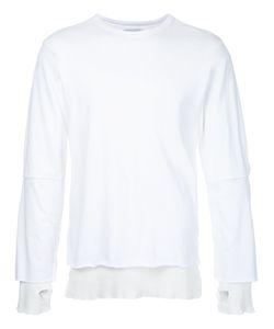 FACETASM   Elbow Slit Sweater