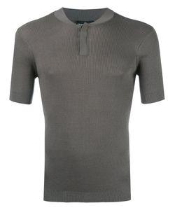 Emporio Armani   Henley T-Shirt 50 Silk/Cotton
