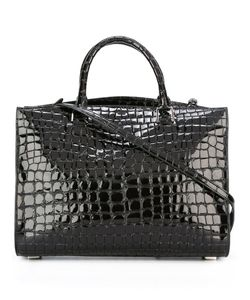 Rochas | Crocodile Texture Shoulder Bag Goat Skin