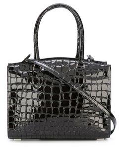 Rochas | Crocodile Texture Tote Bag Goat Skin