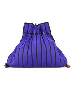 Issey Miyake | Striped Sack Backpack
