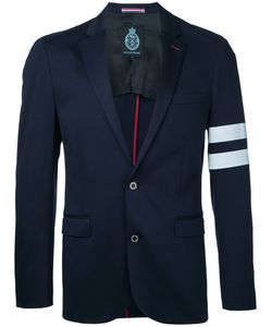 GUILD PRIME | Striped Sleeve Blazer