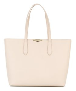 Twin-set | Logo Plaque Tote Calf Leather