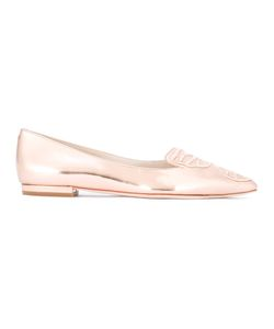 Sophia Webster   Pointed Toe Slippers 36 Leather