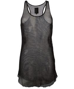 THOM KROM | Net Tank Top Small Cotton