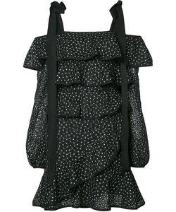 Rebecca Vallance | Farina Ruffle Mini Dress Size 12