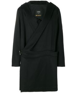 Cini | Belted Hooded Coat Men