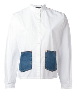 Diesel | Denim Pocket Shirt Small Cotton