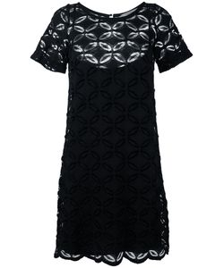 D.exterior | Embroidered Shift Dress