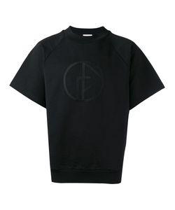 GOSHA RUBCHINSKIY | Embroide Logo T-Shirt Large Cotton/Nylon