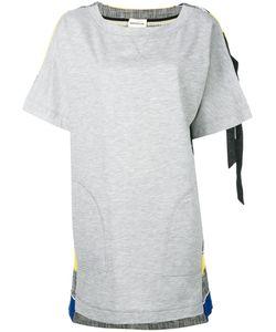 Semicouture   Stripe Detail Sweatshirt Dress Size 40