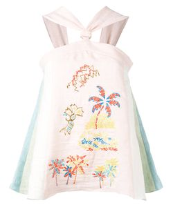 Peter Pilotto | Embroidered Pastel Blouse