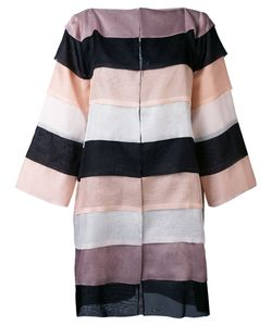 Gianluca Capannolo | Striped Oversized Coat