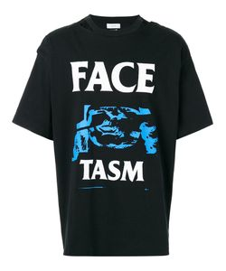 FACETASM   Open-Back Printed T-Shirt One