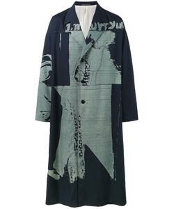 Yohji Yamamoto | Oversized Printed Overcoat Size 3