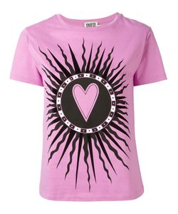 Fausto Puglisi | Saint Heart Print T-Shirt Size 40