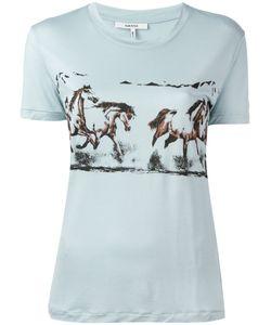 Ganni | Horse Print T-Shirt Size Large