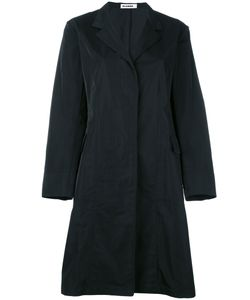 Jil Sander | Single Breasted Coat 34 Silk/Polyester/Cupro