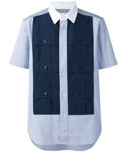 GANRYU COMME DES GARCONS | Paneled Shortsleeved Shirt Size Small