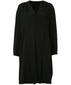 Y'S | Wide Lapel Coat 2 Polyester/Triacetate