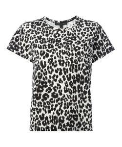 Marc Jacobs | Classic Leopard Print T-Shirt Large