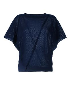 Vanessa Bruno | Perforated Knitted Top Medium Wool/Cashmere