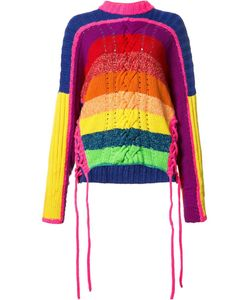 SPENCER VLADIMIR | Rainbow Jumper Xs/S Cotton/Cashmere/Wool