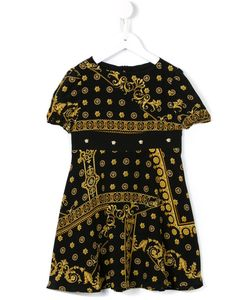 Young Versace | Printed T-Shirt Dress 11 Yrs