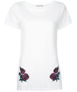 Maison Mihara Yasuhiro | Flower Embroidered Long T-Shirt