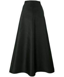 Max Mara | Mid-Rise A-Line Skirt 42 Polyester/Silk